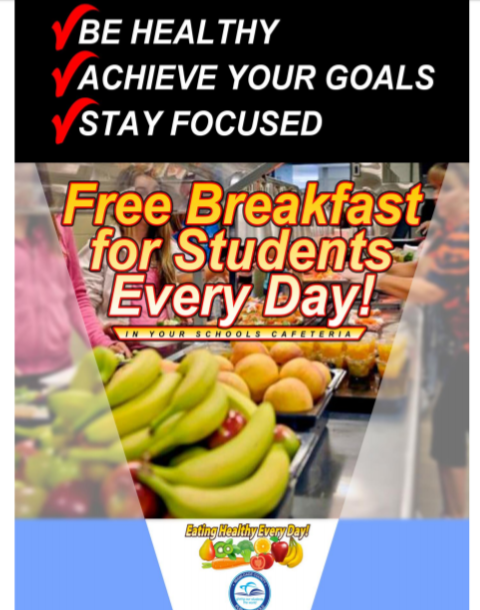 Free Breakfast for Students Every Day!