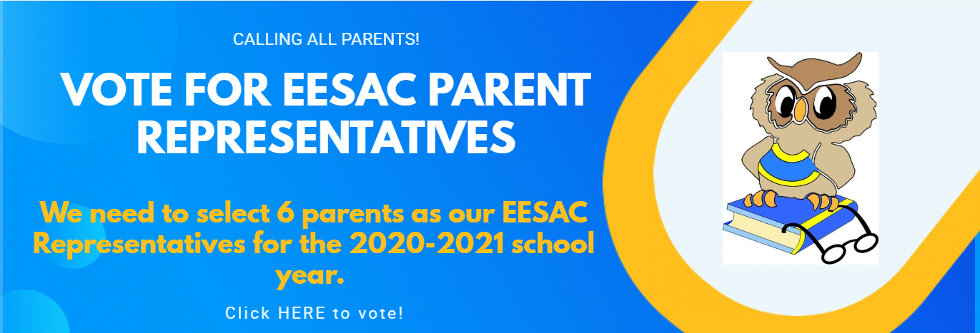 Vote for EESAC Parent Representatives