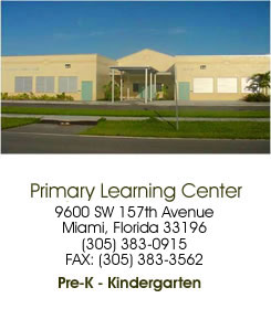 Primary Learning Center - 9600 SW 157th Avenue